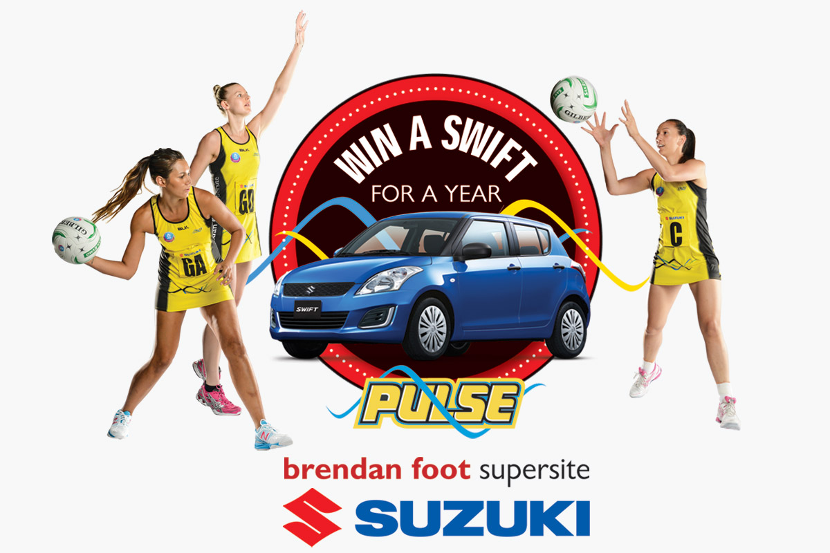 Win a Suzuki Swift with the Pulse Brendan Foot Supersite