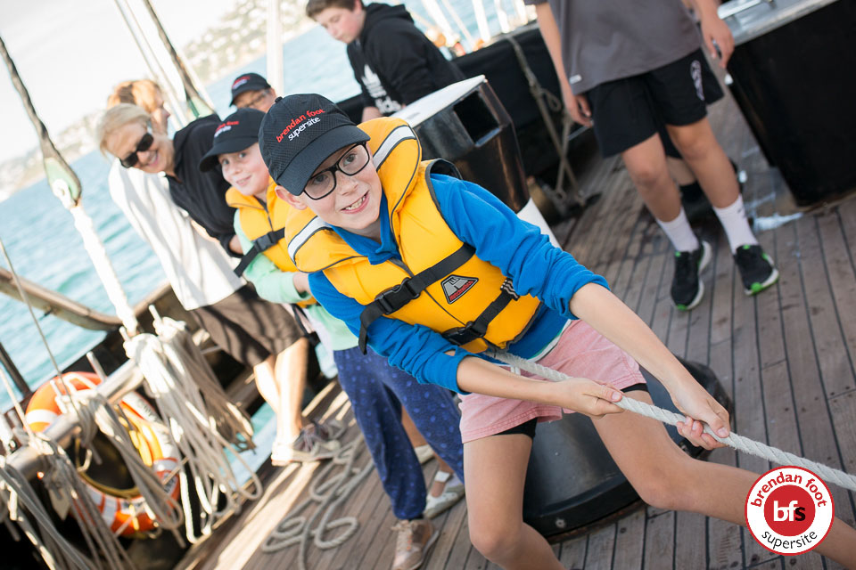 Spirit of Adventure Sailing for Hyundai customers Brendan Foot Supersite