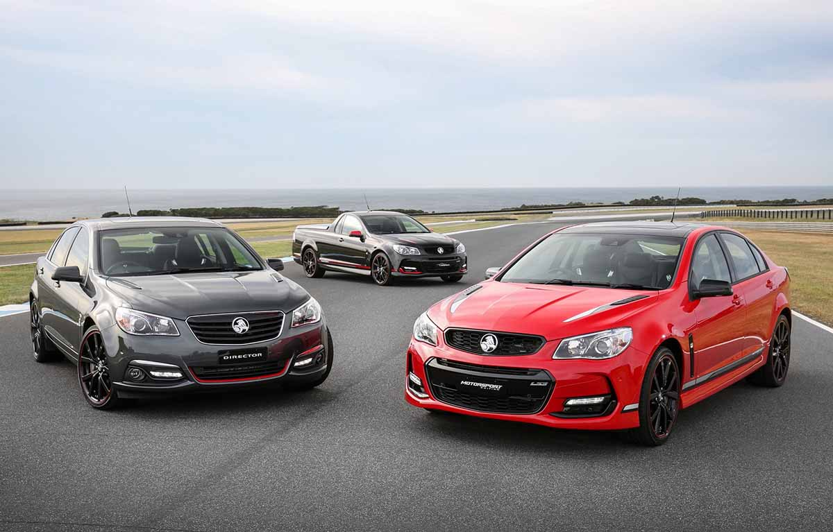 Holden Commodore Special Limited Editions