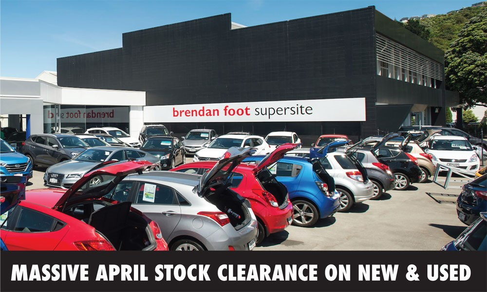 Massive April Stock Clearance On Now Brendan Foot Supersite