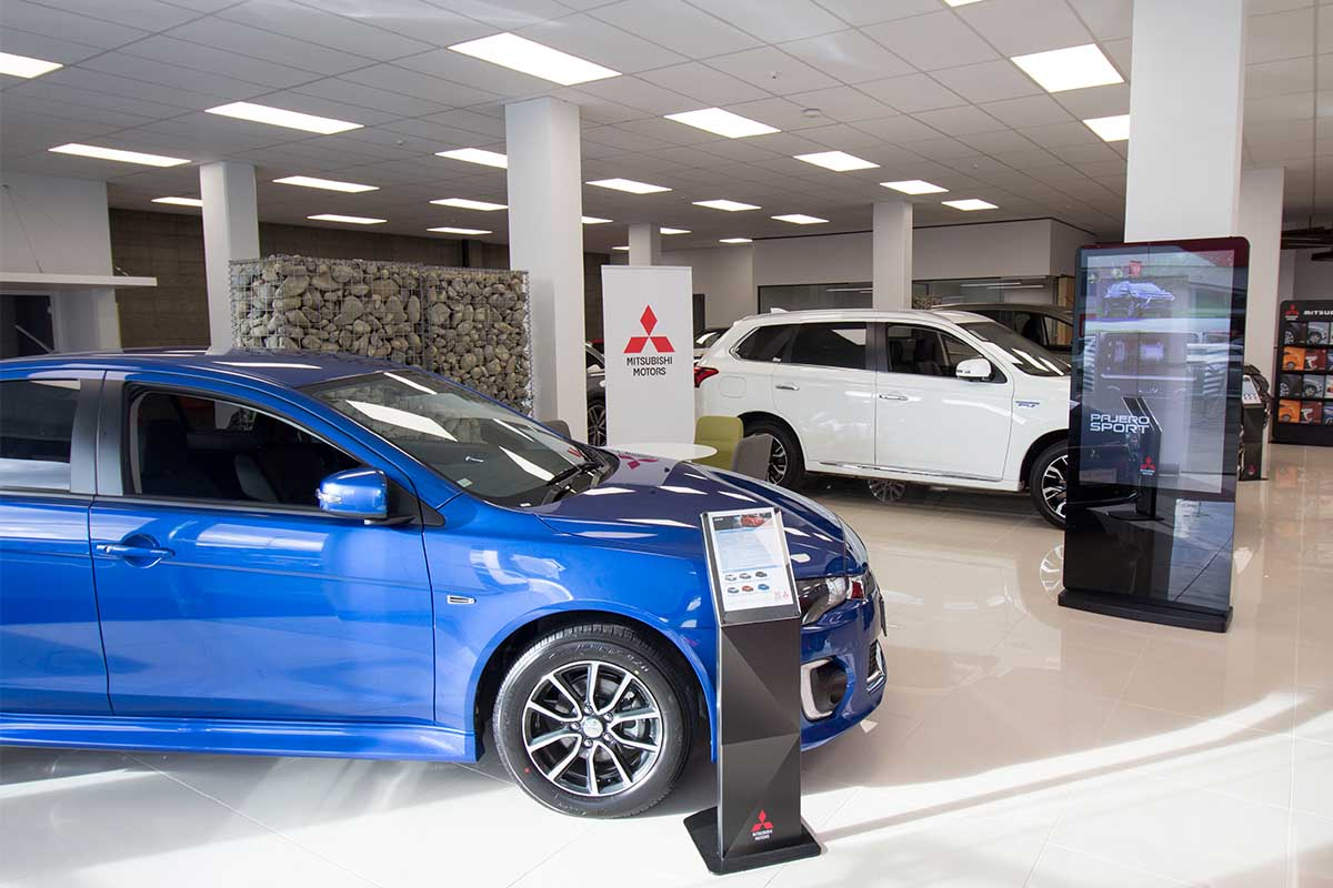 Mitsubishi is now at Brendan Foot Supersite Brendan Foot Supersite