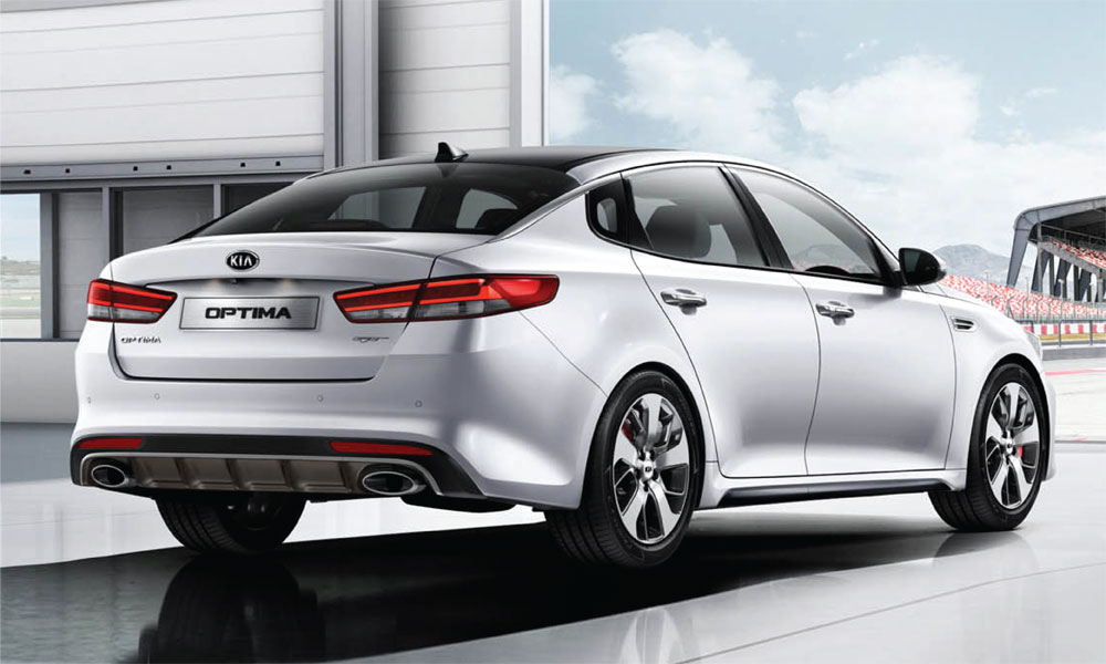 Kia Optima Brendan Foot Supersite