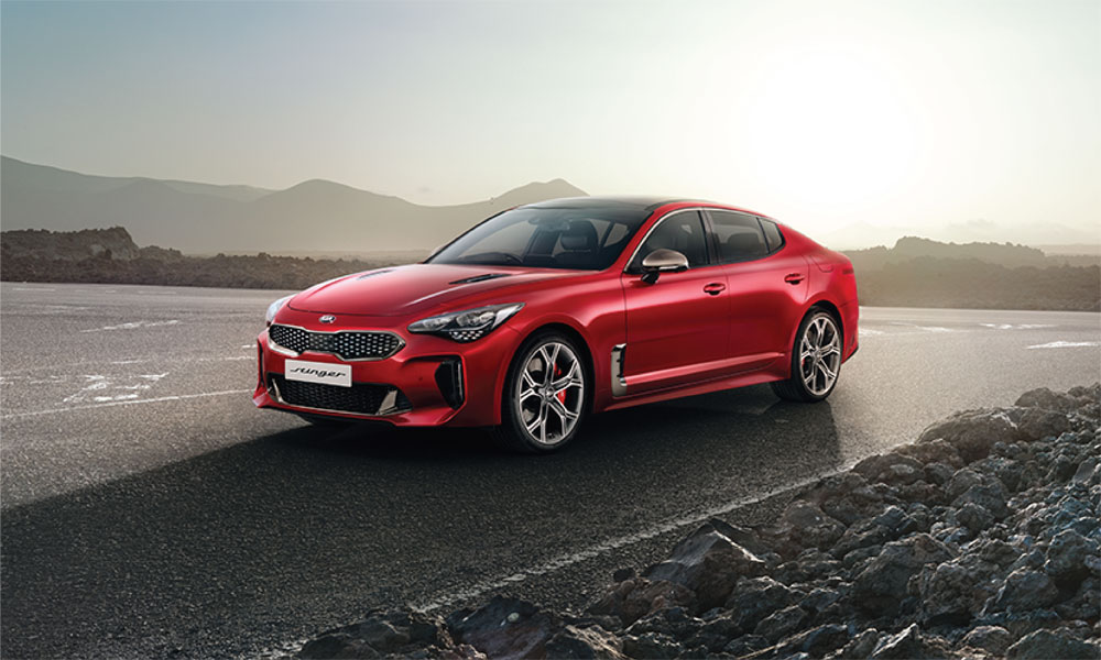 Kia Stinger Brendan Foot Supersite
