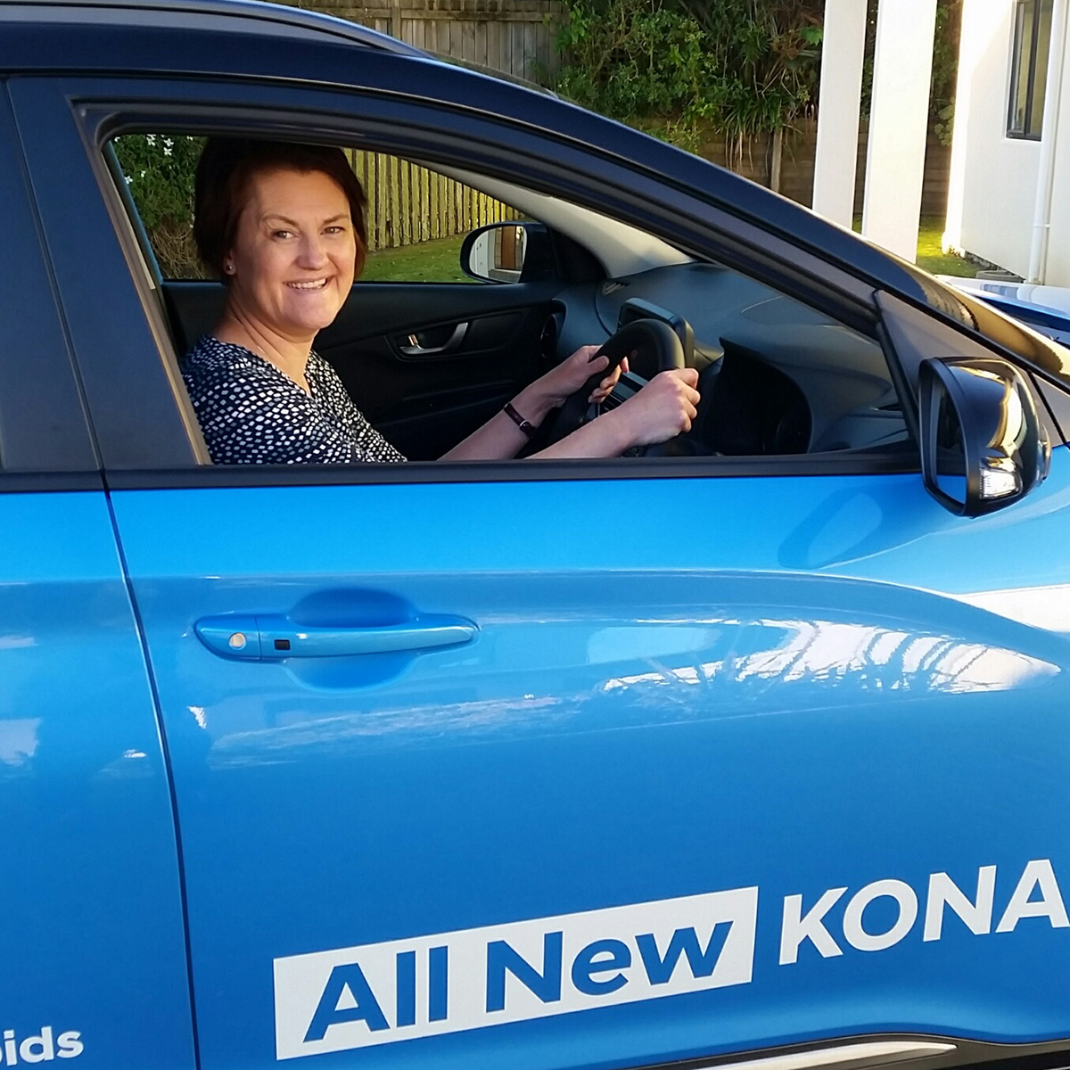 Driving the Kona – an exhilarating experience! Brendan Foot Supersite