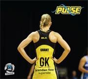 Pulse player Katrina Grant