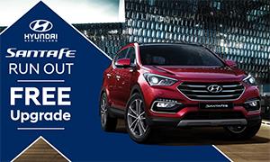 Hyundai Santa Fe Run Out