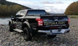 Mitsubishi Triton Fury Package