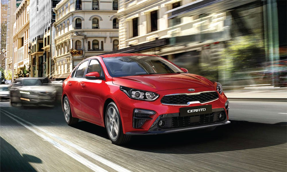Kia Cerato - Sporthatch and Sedan Brendan Foot Supersite