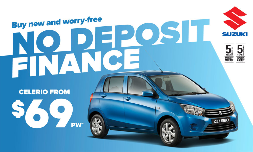 Suzuki Finance Offer Brendan Foot Supersite
