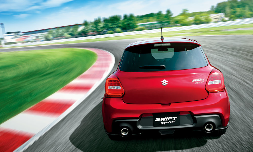 Suzuki Swift Sport Brendan Foot Supersite