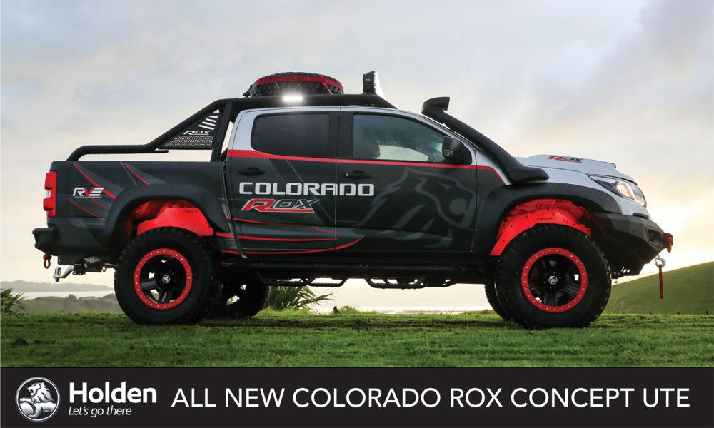 Holden Colorado Brendan Foot Supersite
