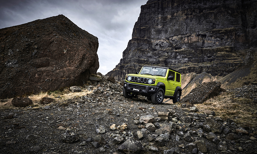 Suzuki Jimny Brendan Foot Supersite