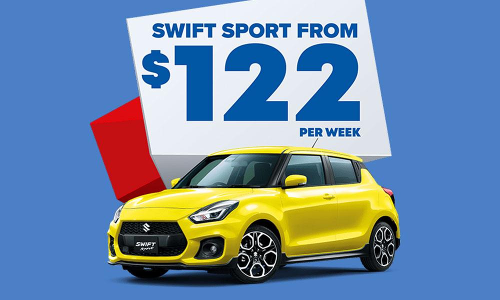 Suzuki Swift Sport Brendan Foot Supersite