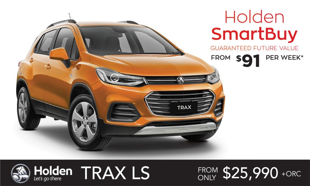Holden Trax Brendan Foot Supersite