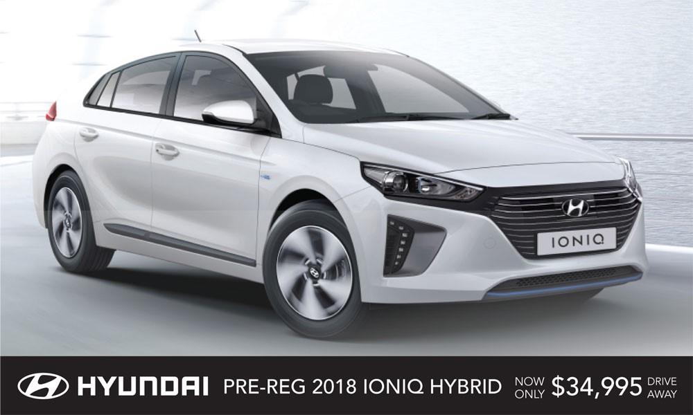 Hyundai Ioniq Brendan Foot Supersite