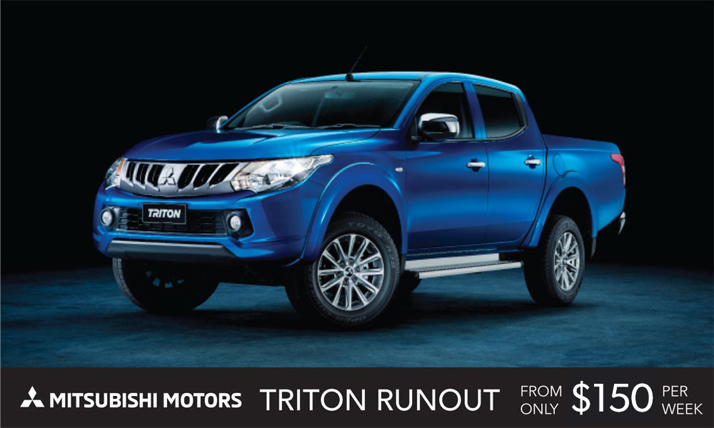 Mitsubishi Triton Brendan Foot Supersite