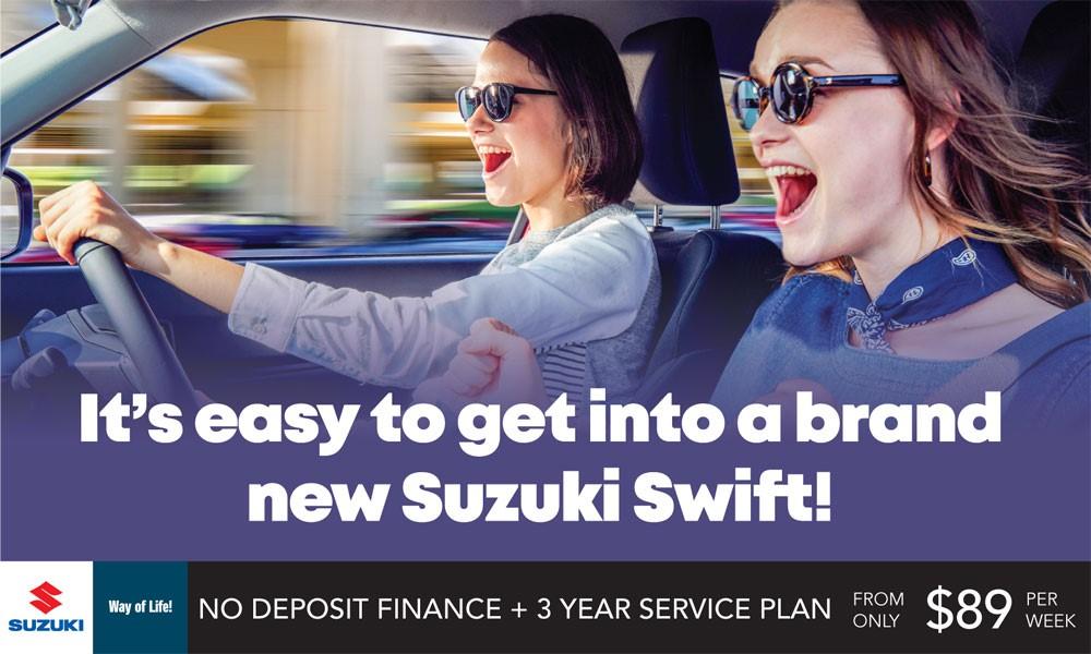 Suzuki Swift Brendan Foot Supersite