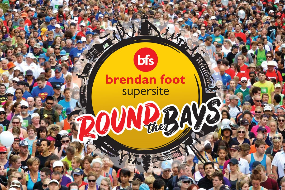 Naming Rights Sponsor for Round the Bays Brendan Foot Supersite
