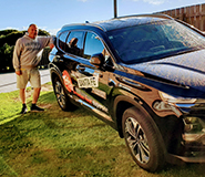 Graham Findlater winner of Hyundai Santa Fe