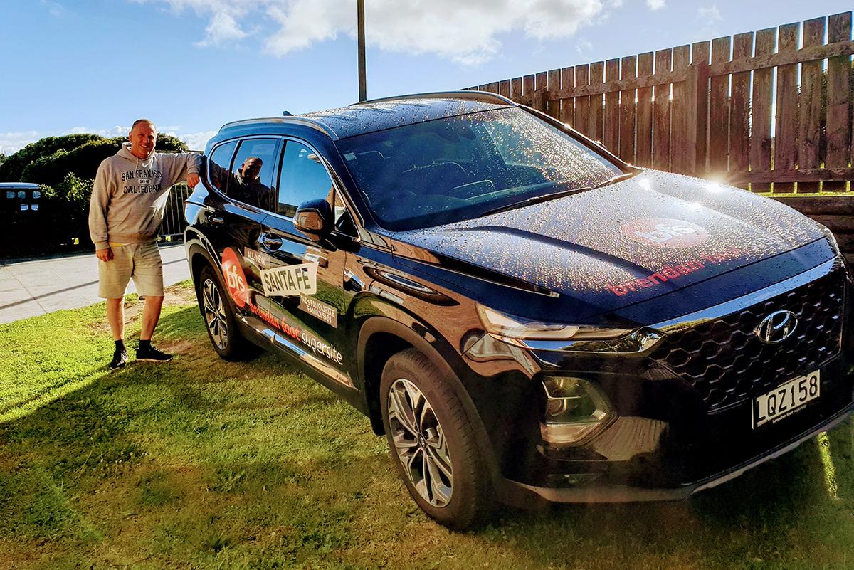 A fantastic experience driving the Santa Fe Brendan Foot Supersite