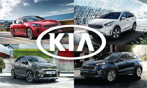 Kia offers across the range