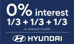 Hyundai 0% Interest on Selected Models