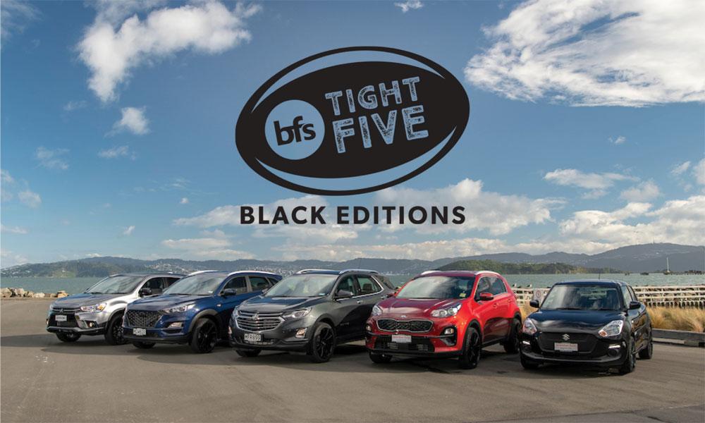 Tight Five Black Editions Brendan Foot Supersite