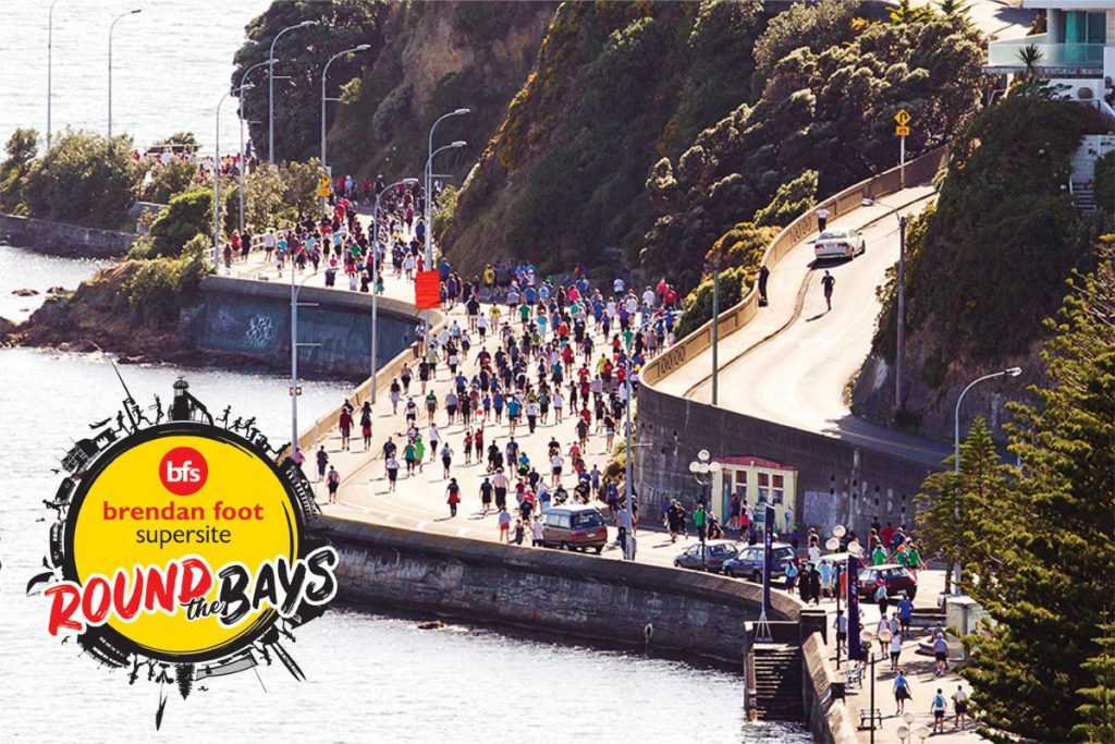 On the road again with Round the Bays Brendan Foot Supersite
