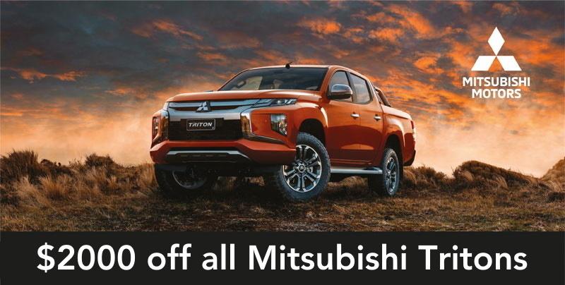 Mitsubishi Triton Brendan Foot Supersite