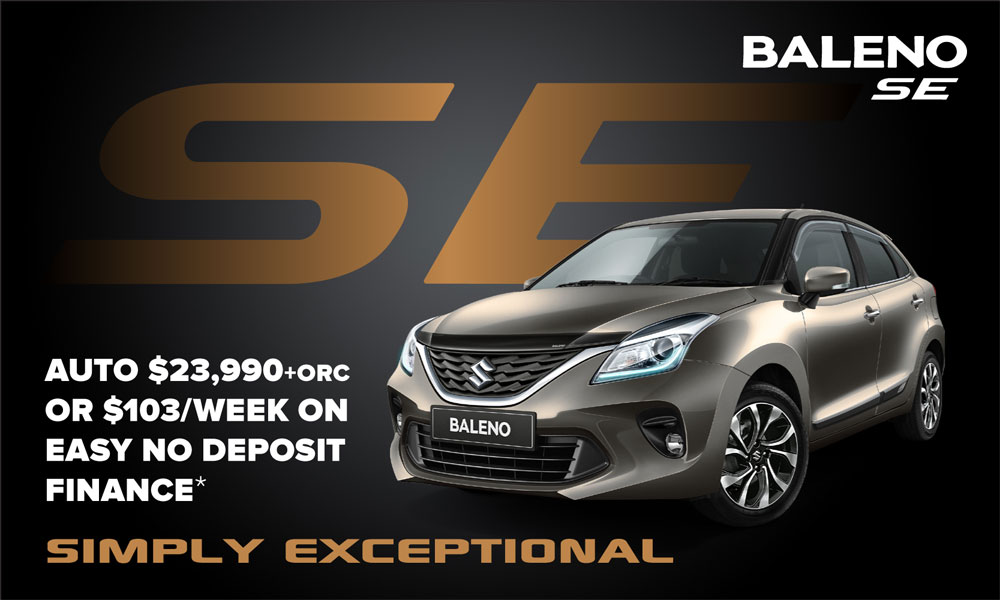 Suzuki Baleno Brendan Foot Supersite