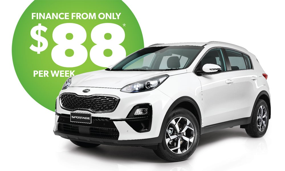 Kia Sportage Brendan Foot Supersite