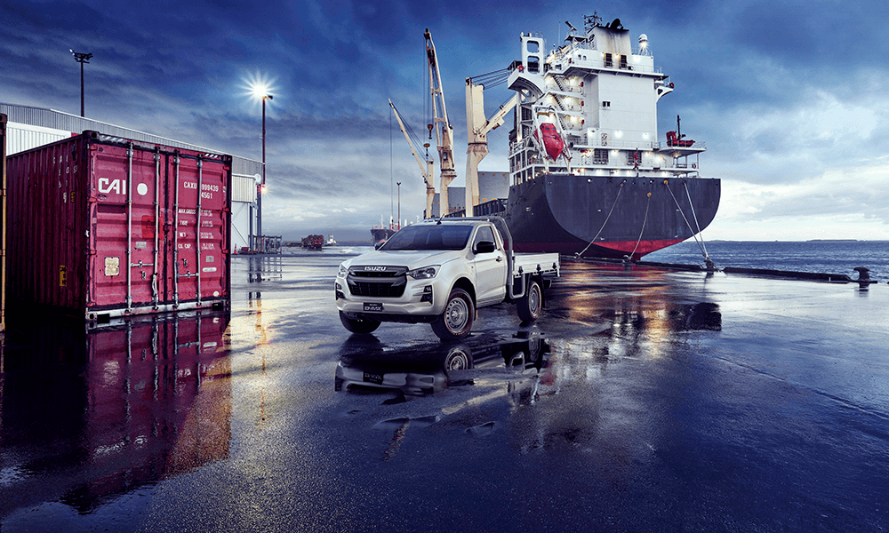 All-new Isuzu D-Max Single Cab Brendan Foot Supersite