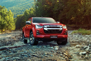 New D-Max The Toughest and Safest Ute