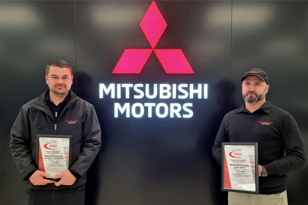 Our award-winning Mitsubishi Team Brendan Foot Supersite